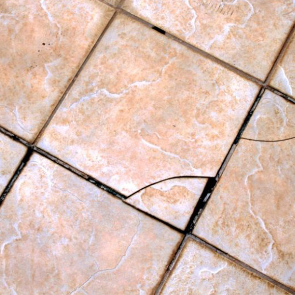 Image 3 of cracked tile